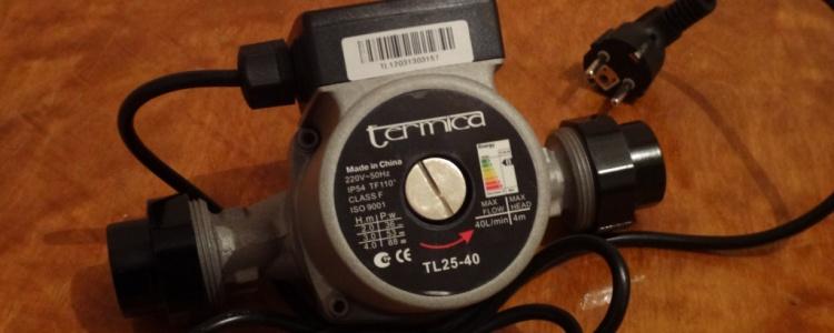 Циркуляционный насос Termica TL25-40