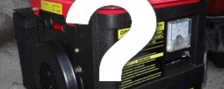 Бензиновый генератор или ИБП