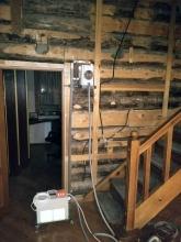 Оборудование для СВЧ обработки зараженной древесины
